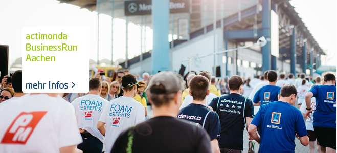 actimonda Businessrun Aachen